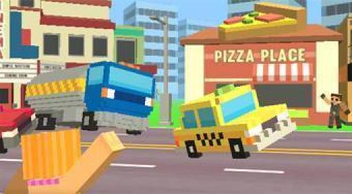Pixel Road Taxi Depot   Mahee com