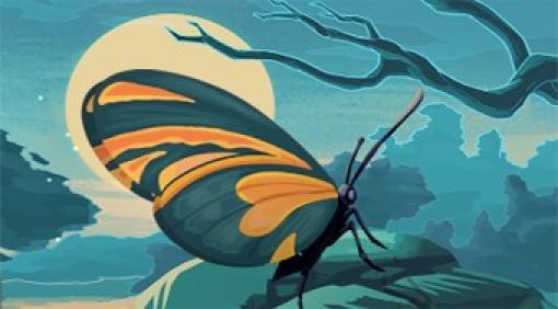 Schmetterlings Kyoday